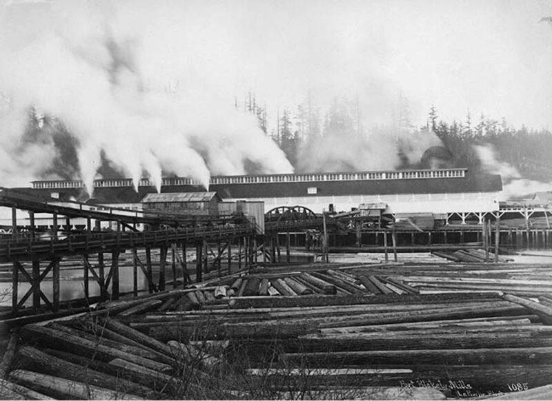 1891 Port Blakely lumber mill