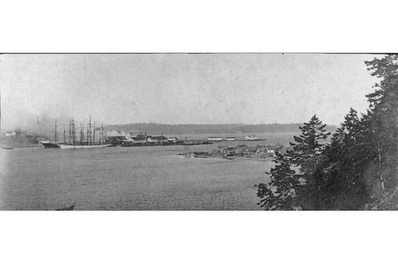 1893-1906 Port Ludlow sawmill, Washington.