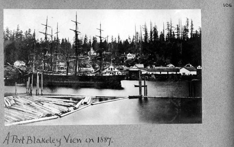 1887 Port Blakely lumber mill.