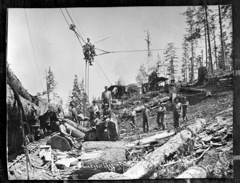Goodyear Logging Co., Clallam Bay, Washington