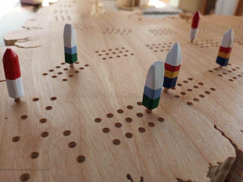 map of newfoundland,newfoundland crib boards,nl crib boards,scroll saw,wood map,wood map of newfoundland