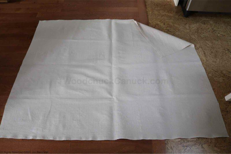 faux roman shades,faux roman blinds,drop cloth,no sew roman blind,diy,sewing