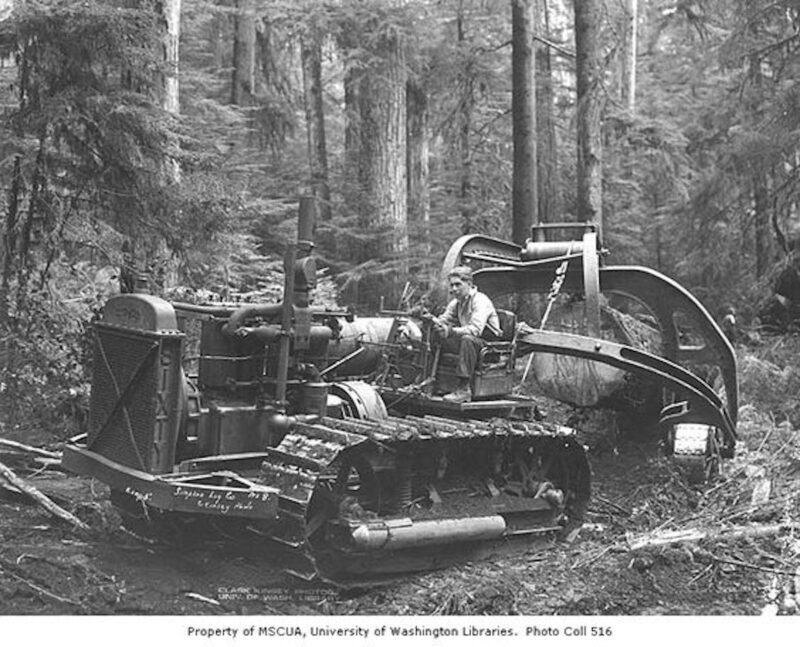 1940 Simpson Logging Company