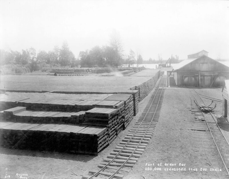 1914 Railroad Cross-Ties (Sleepers)