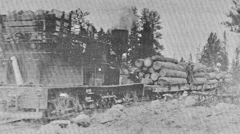 1907 David Eccles, Sumpter Valley Railway of Baker, OR.