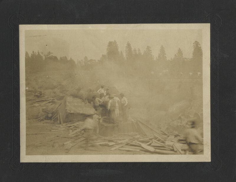 1909 Crash at Stirling City.