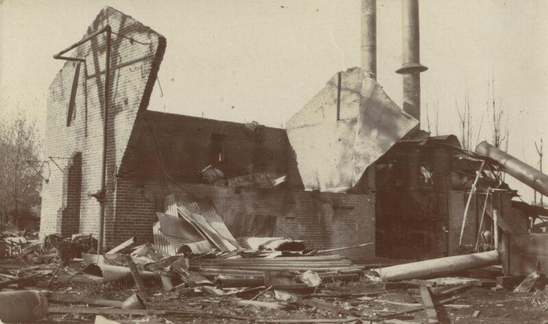 1905 Sierra Lumber Co fire.