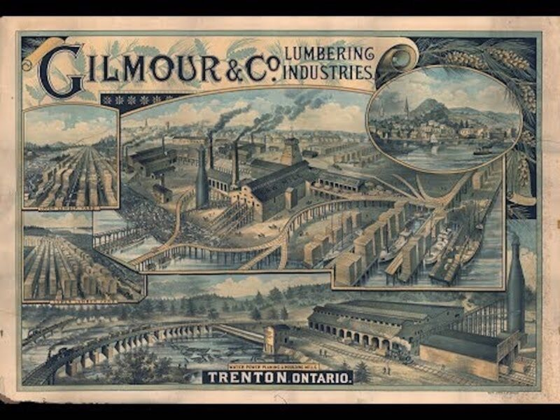 Gilmour Lumber Co. advertisement