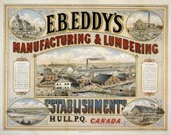 E.B. Eddy's Lumbering and Manufacturing