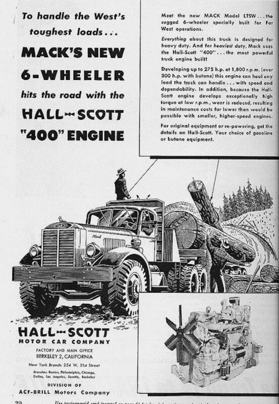 1947 The ad says it all.