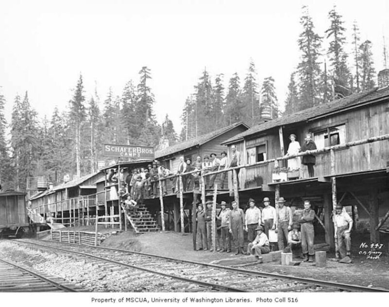 1922 Schafer Brothers Logging Company.