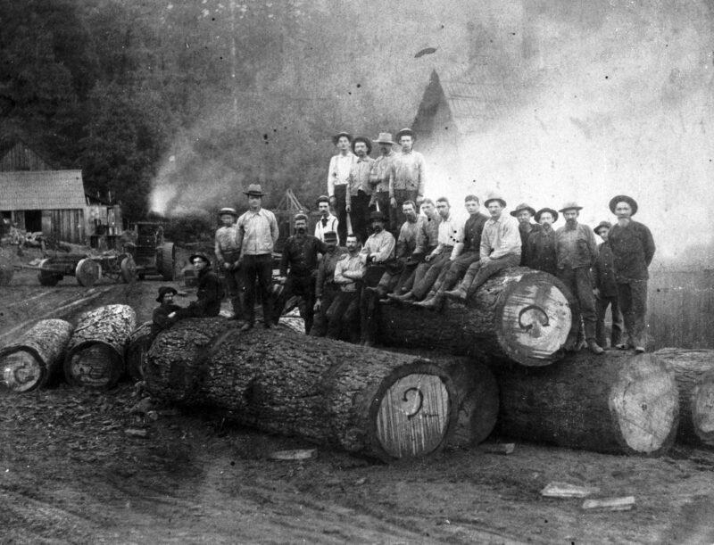 1900 Lumpkin Saw Mill.