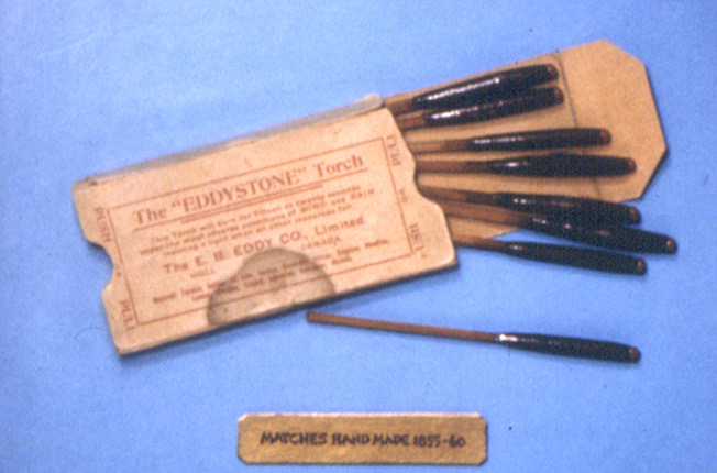 One of the very first matches made by Ezra Butler Eddy during the 1855-1860 period.