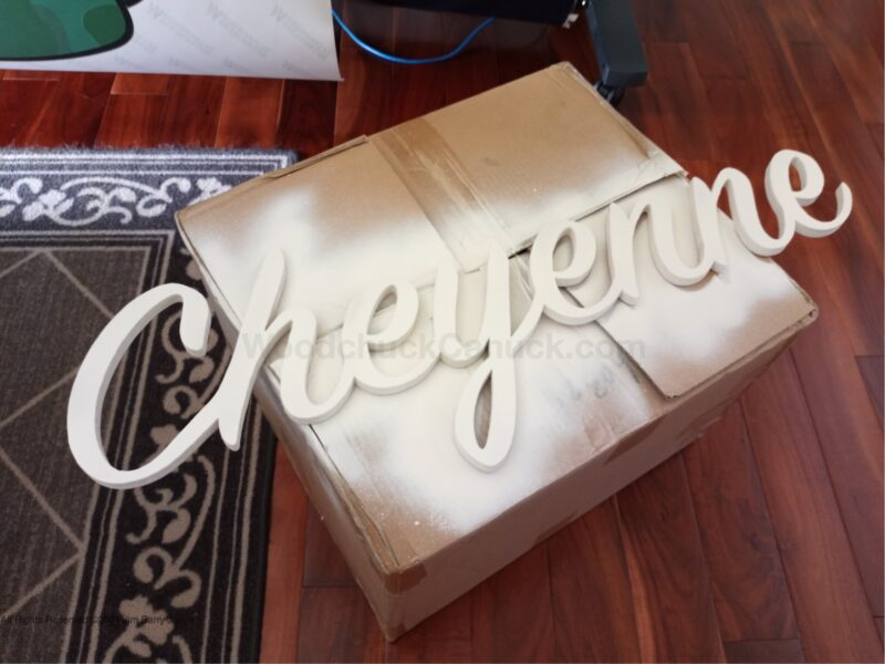 baby name,cheyenne,baby sign,wood sign,crafts,scroll saw,