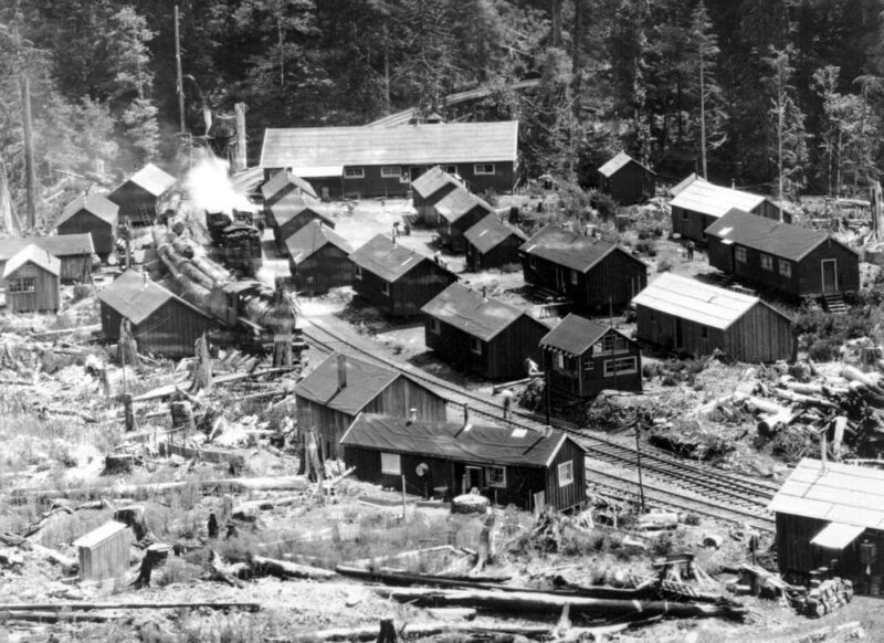 1926 Cathels And Sorenson Operation Logging Camp