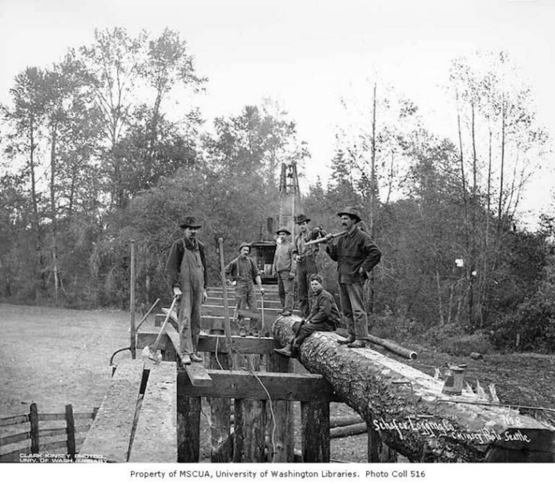 Schafer Brothers Logging Company.