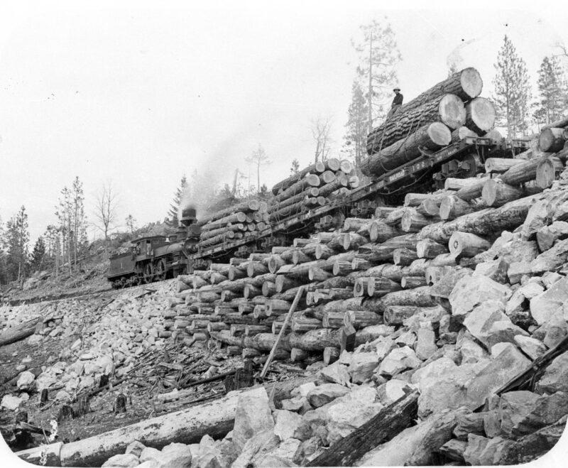 1915 Logging railroads, Weed Lumber Company