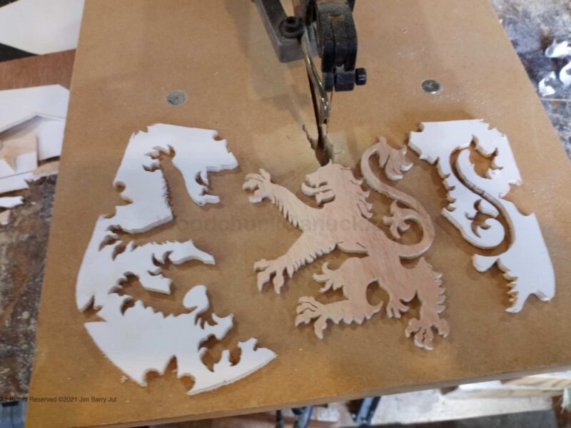 layered flag of NS,layered flags,flag of nova scotia,crafts,painting,scroll saw,