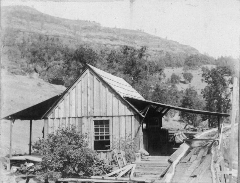 1890 Rocky Point Flume Station.