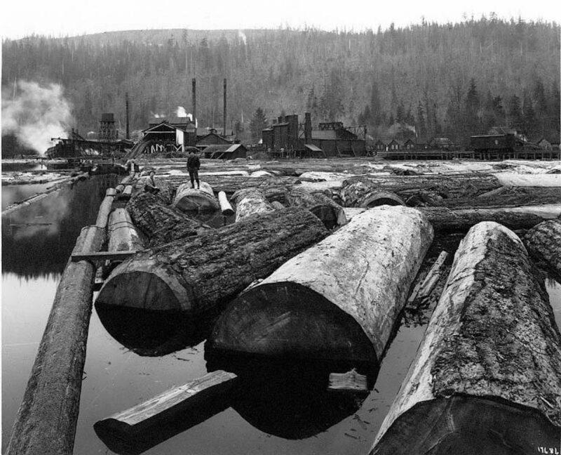 1920s Atlas Lumber and Shingle Company