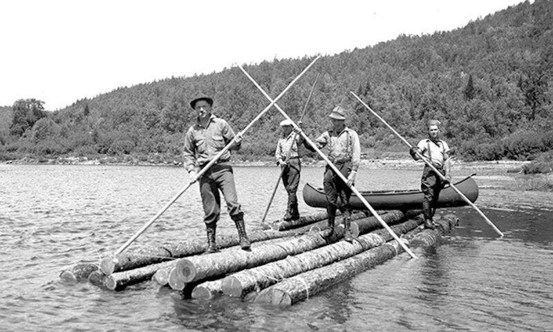 Typical occurrence in the log-sweeping operations