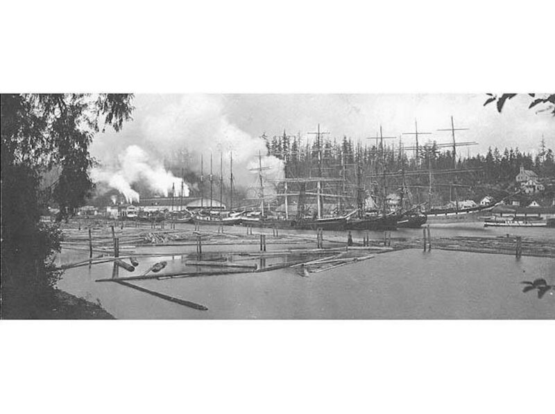 1900 Port Blakely Mill, Washington.