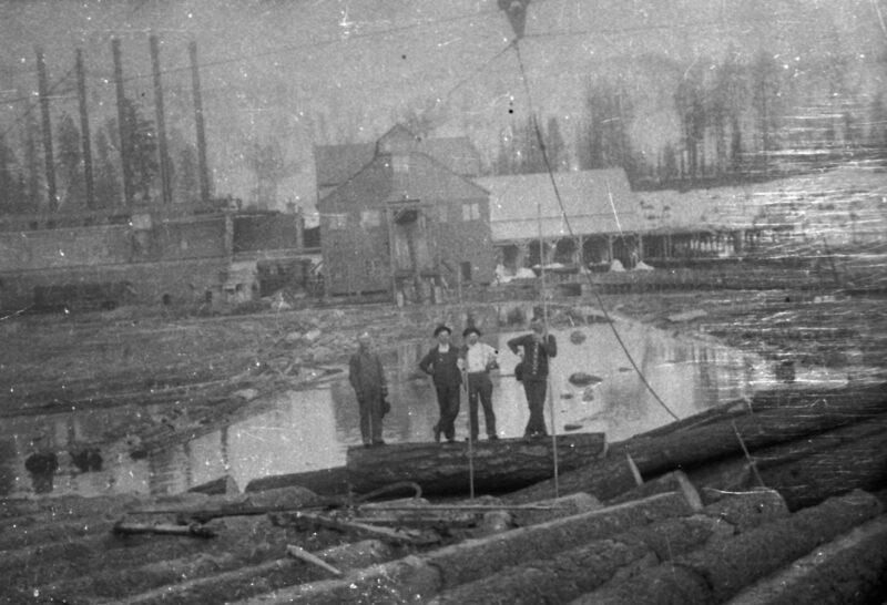 1900 Stirling City Mill Pond.
