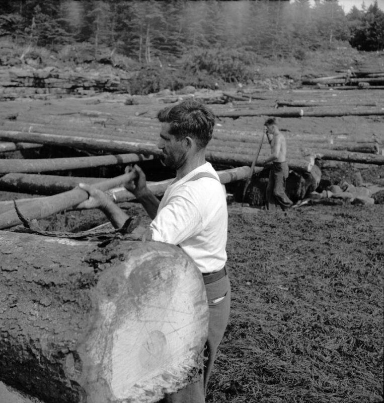 1950 Keith Potter mill operations.