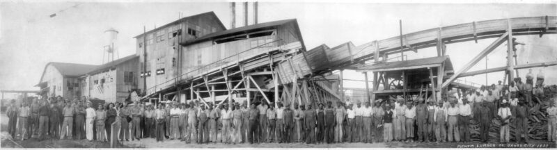 1939 Putnam Lumber Co. in Shamrock, Florida.