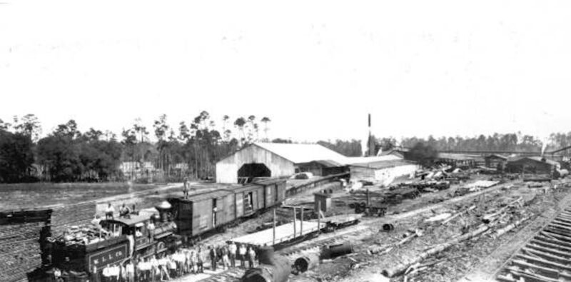 Weaver Loughridge Lumber Company - Boyd, Florida