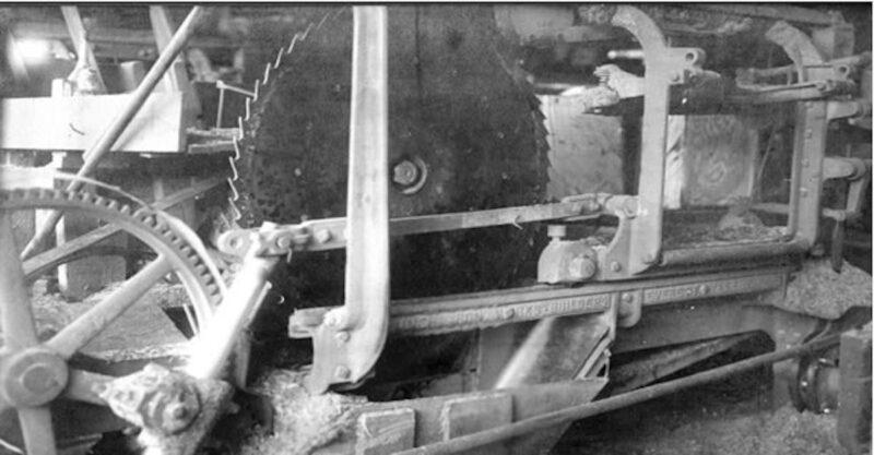 1907 Shingle saw.