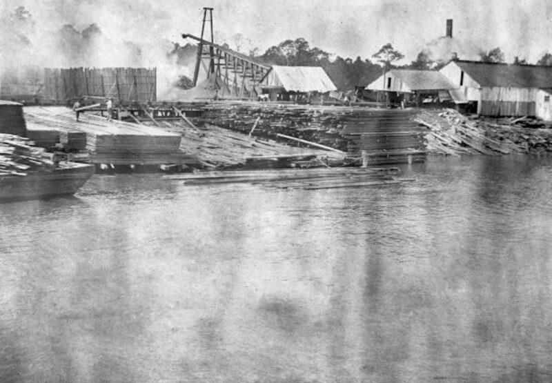 1895 Coombs Lumber Company - Apalachicola, Florida